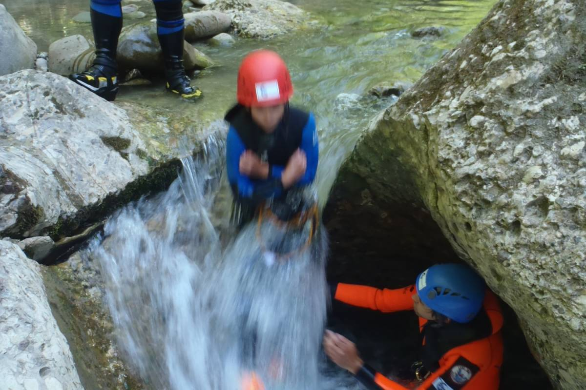"Die Canyonauten Beginners Canyoning ""Gunzesried"""