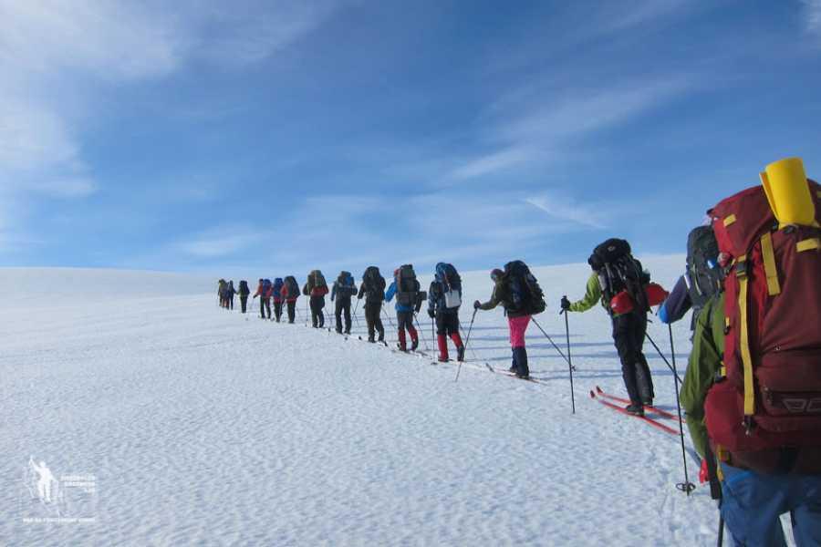 Jostedalen Breførarlag Ski touring Jostedalsbreen