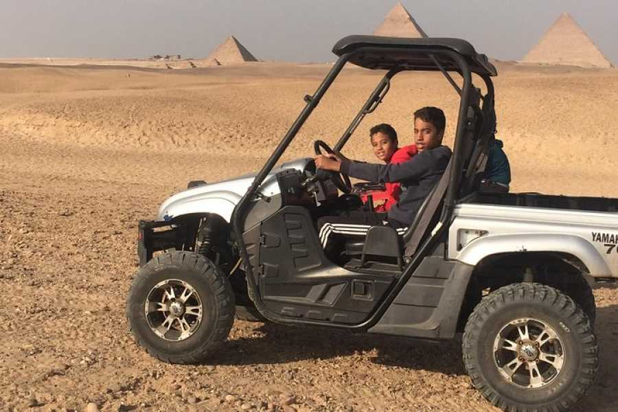 Deluxe Travel Desert Safari ATV Quad Biking Around Pyramids of Giza