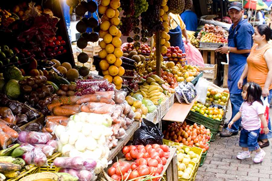 Medellin City Services Local Fruit and Market Places Tour