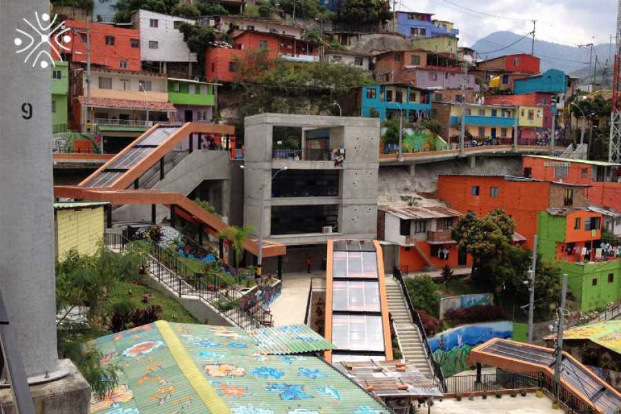 Medellin City Services Barrio Transformation Tour Including Comuna 13