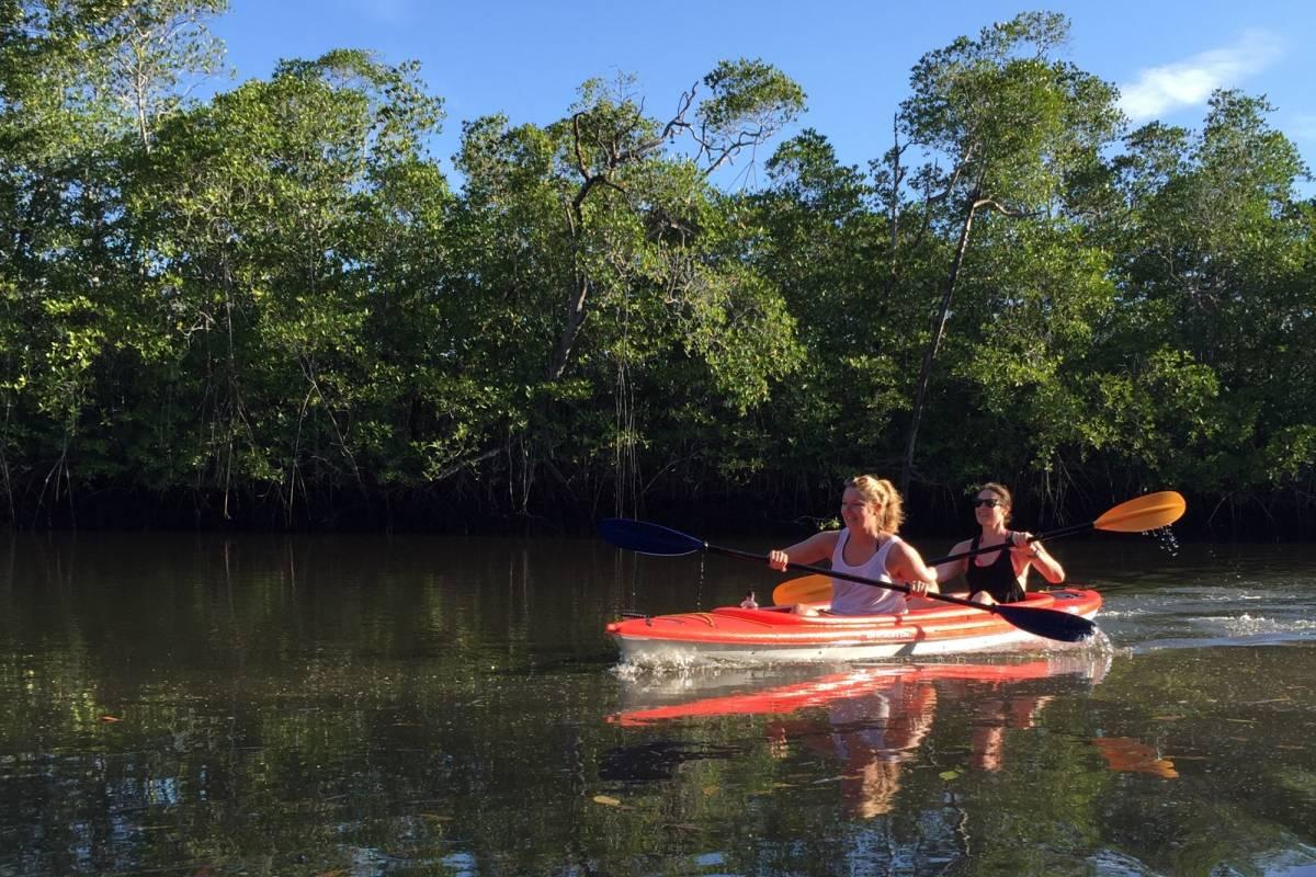 Kelly's Costa Rica Estuary Kayak Tour