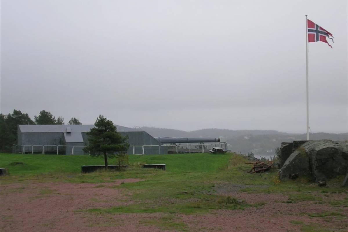 Guide Sør Kristiansand war history tour