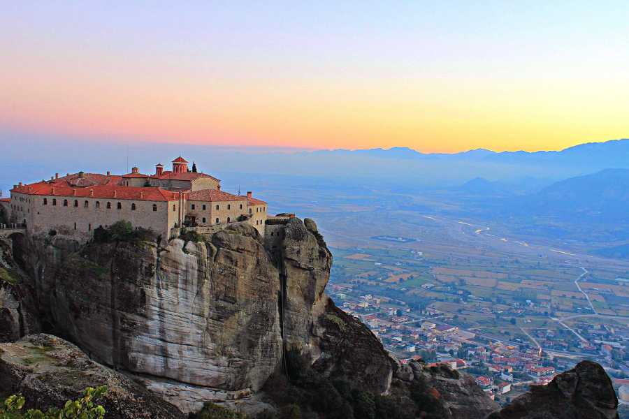 Visit Meteora Two Days Rail Tour to Meteora from Athens