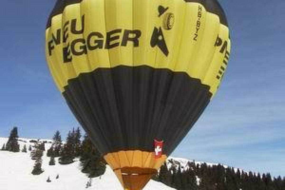 HB Adventure Switzerland Alpine Hotair Balloon ride