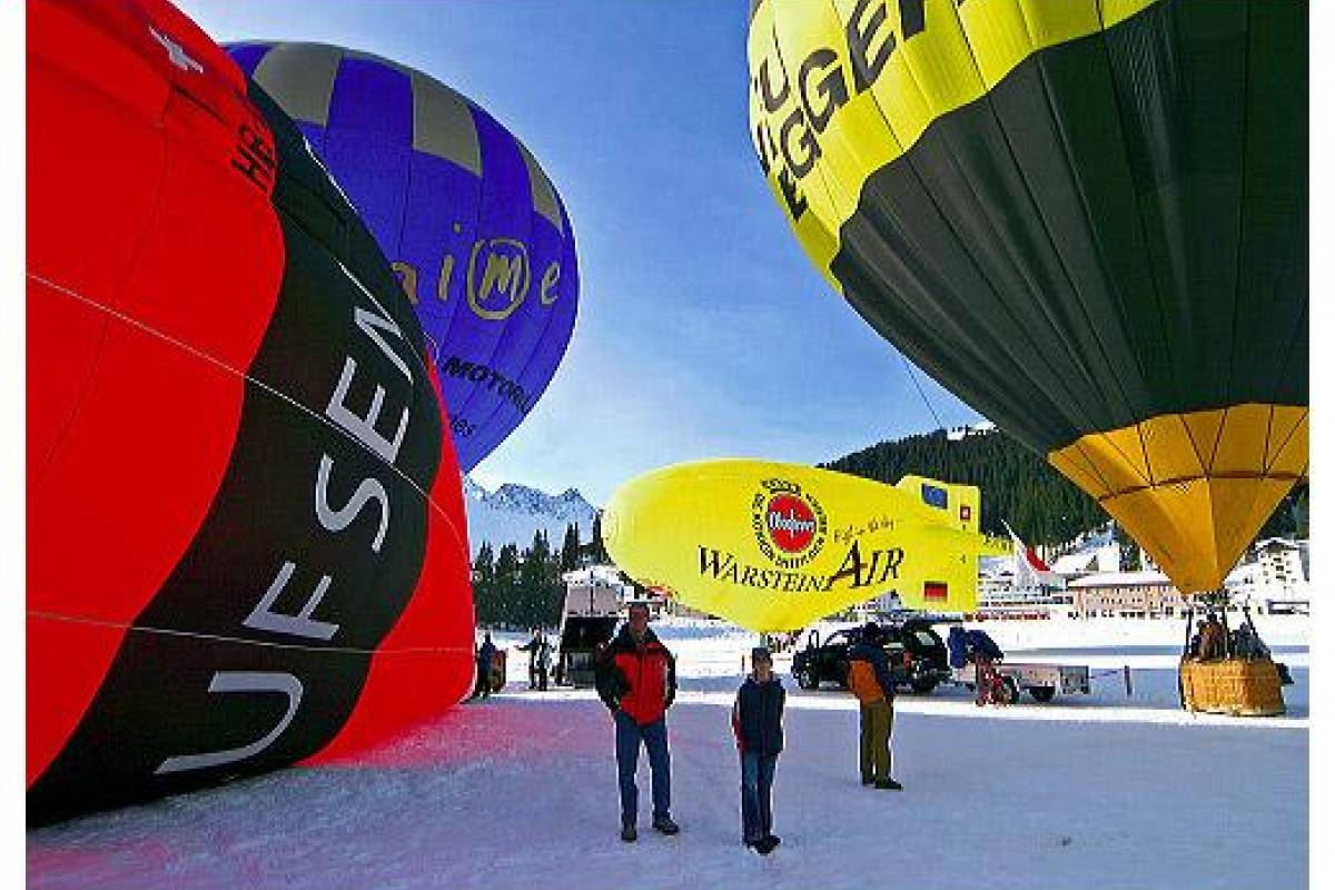 HB Adventure Switzerland AG Alpine Hotair Balloon ride