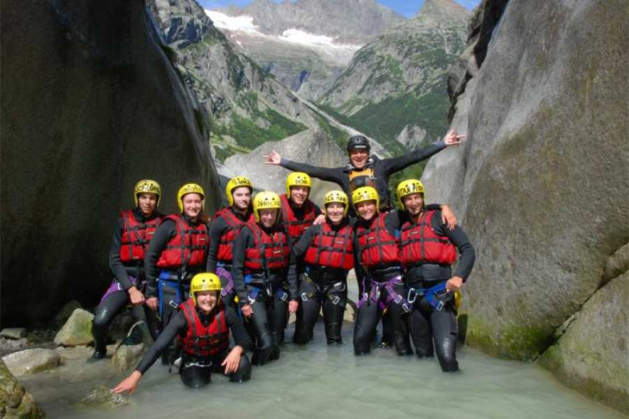 Outdoor Interlaken AG 중급코스! 캐녀닝 그림즐 (Canyoning Grimsel)