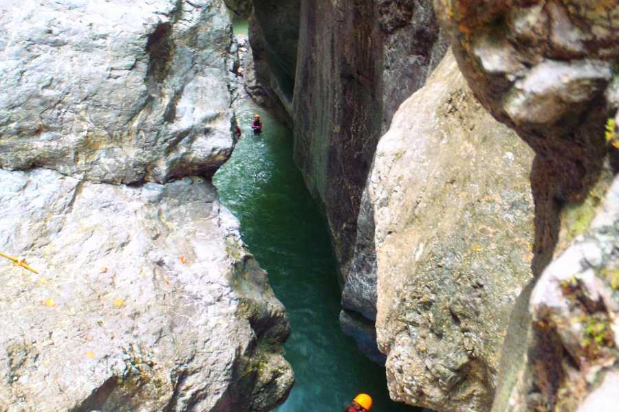 Die Canyonauten Canyoning dagtour