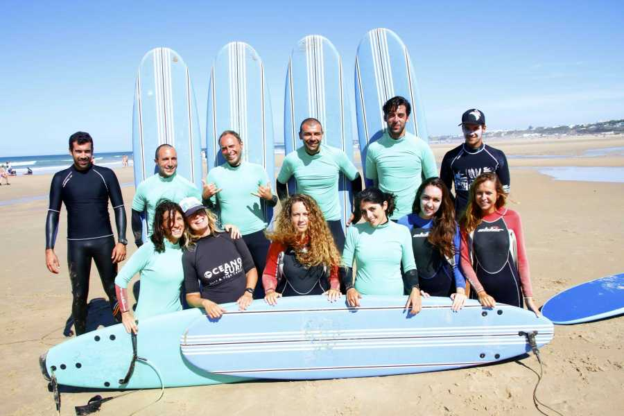 Oceano Surf Camps Clase de Surf Conil