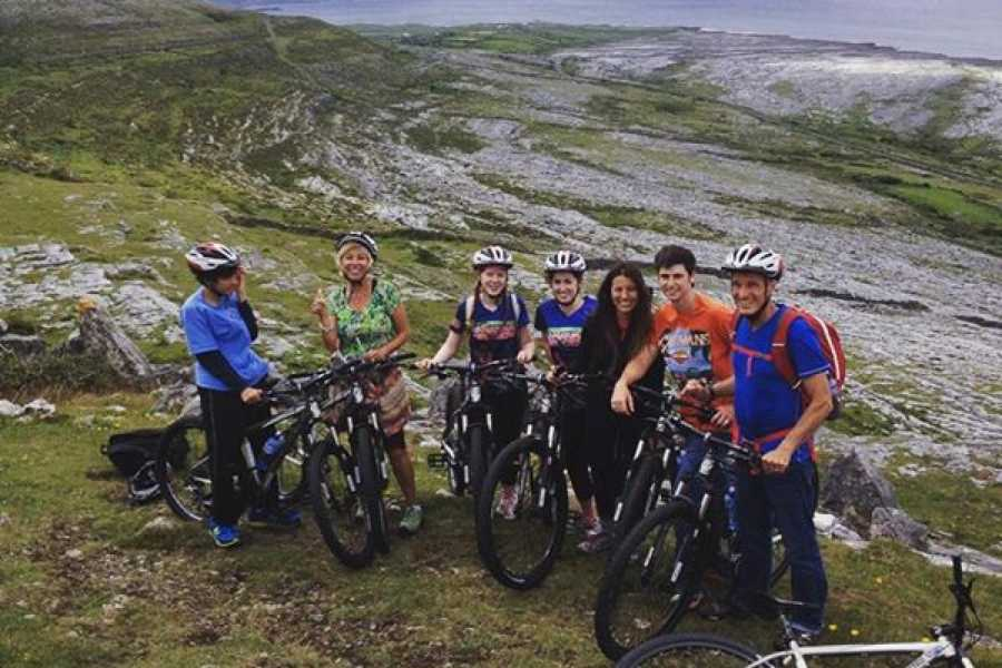 North Clare Sea Kayaking/Burren Way Mountain Bike Tours Galway Bay Explorer Mountain Bike Tour 6 Days/5 Nights