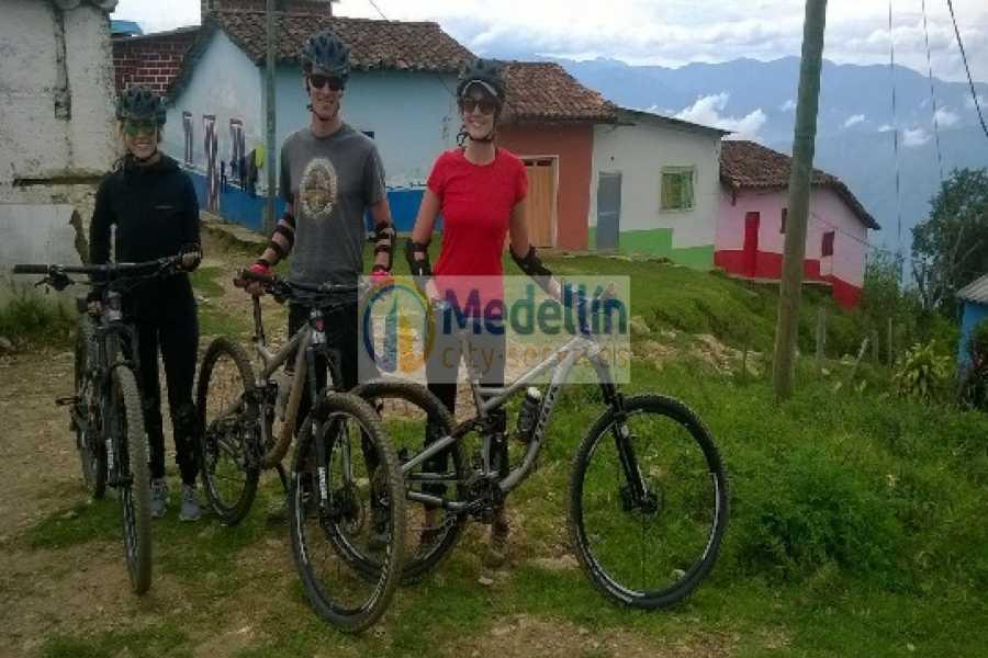 Medellin City Tours Mountain Bikes to Santafe de Antioquia
