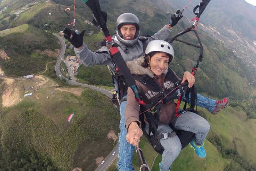 Medellin City Services Andes Paragliding tour from Medellin