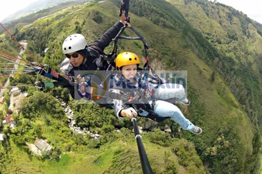 Medellin City Tours Andes Paragliding tour from Medellin