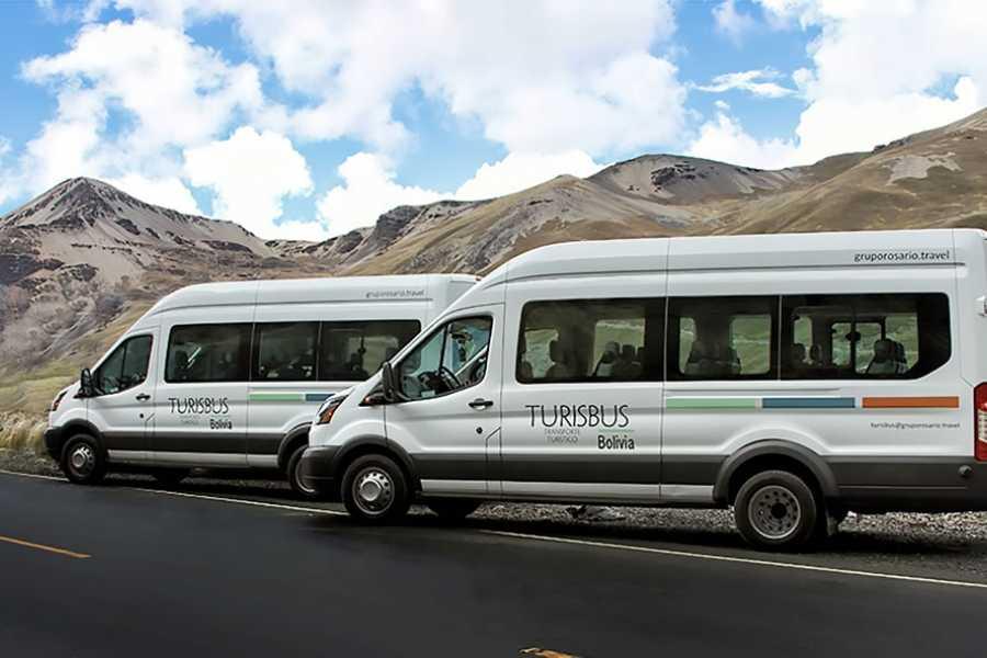 Turisbus Transporte Copacabana a La Paz.