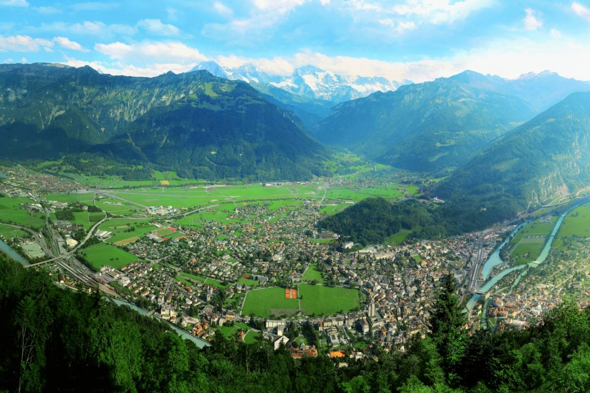 Interlaken Walking Tours Harder Kulm Private Tour