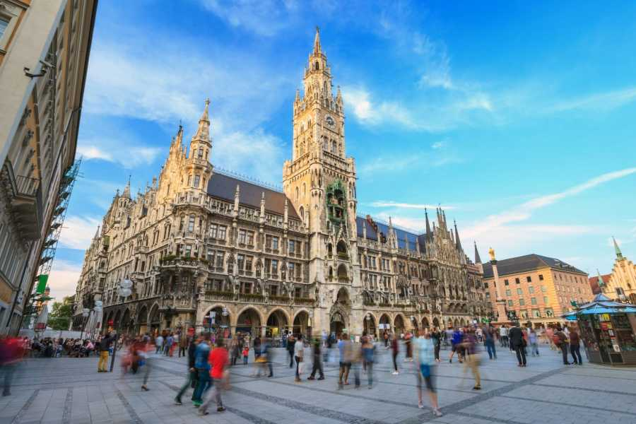 24/7/365 Travel Cesky Krumlov Munich Shared Shuttle