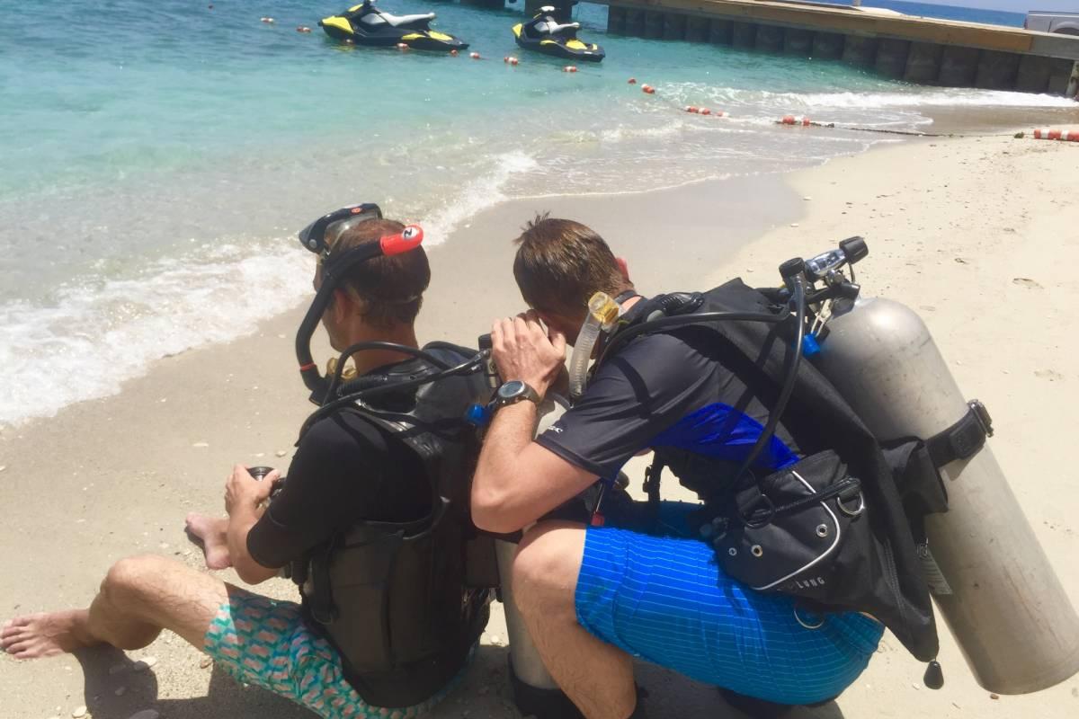 Marina Blue Haiti PADI Divemaster (Practical part)