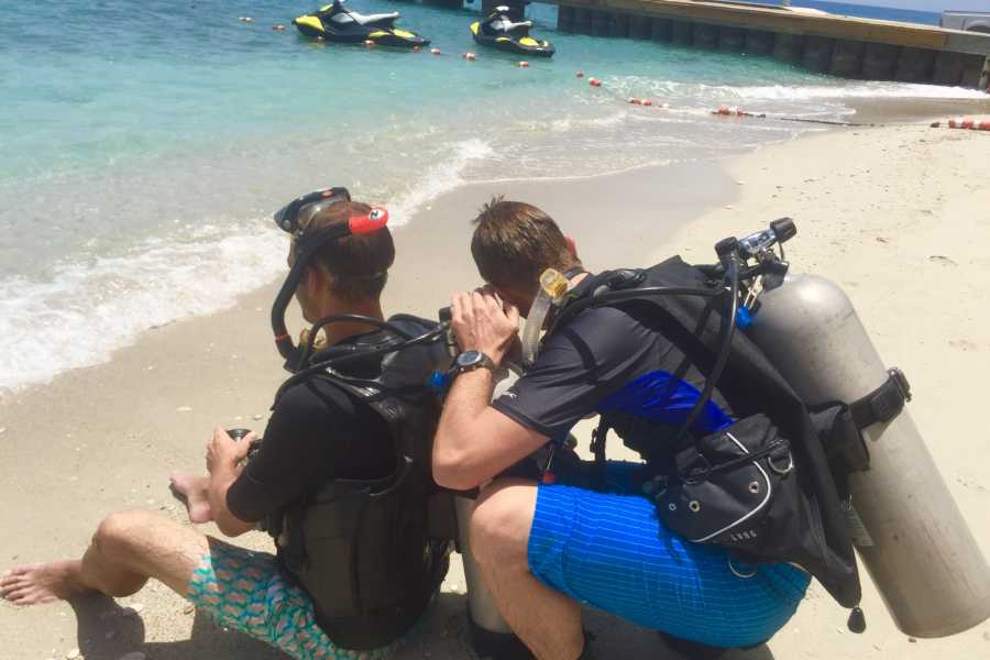 Marina Blue Haiti PADI Divemaster (partie pratique)