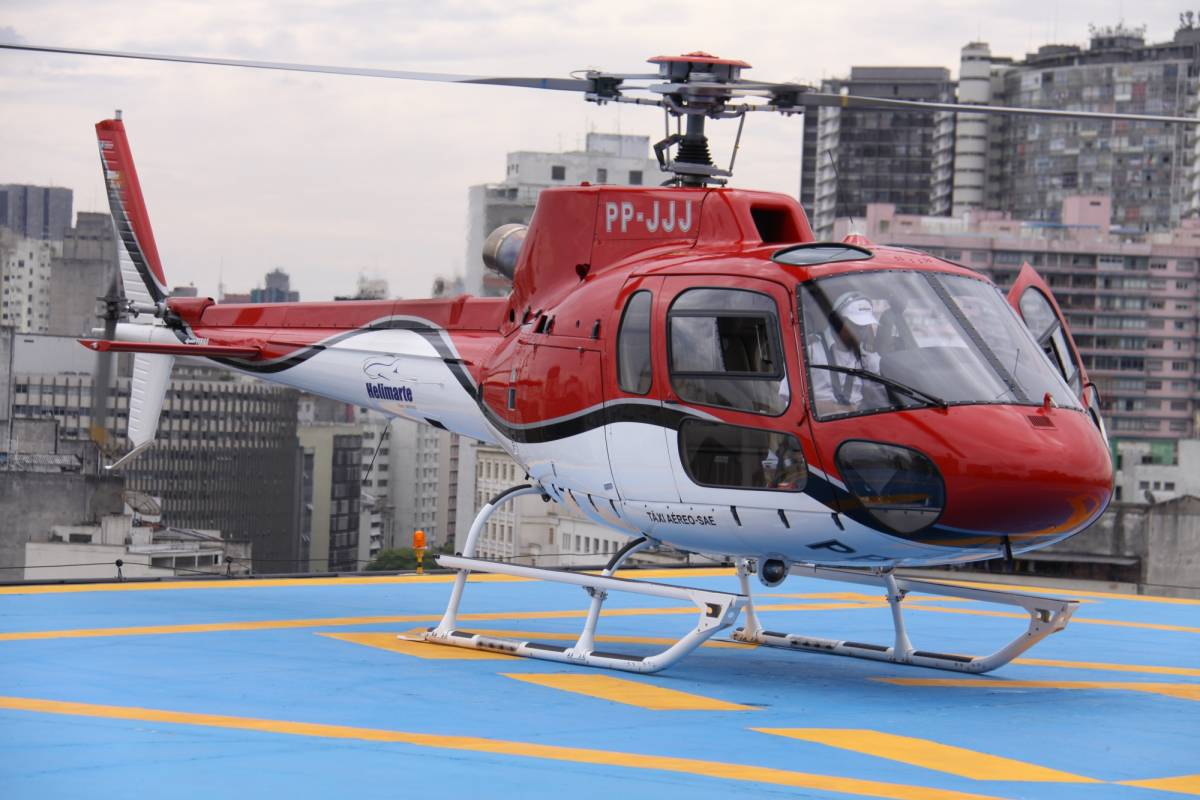 Around SP Helicopter Tour in São Paulo