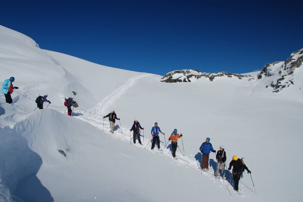 Folgefonni Breførarlag AS Folgefonna on Snowshoes