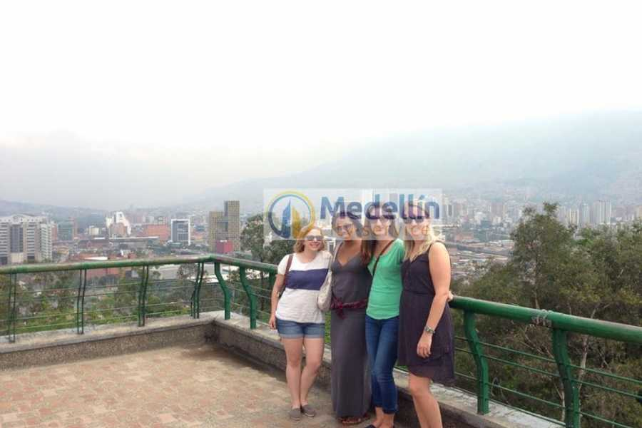Medellin City Services Medellin City Tour Including Paragliding and Food Tasting