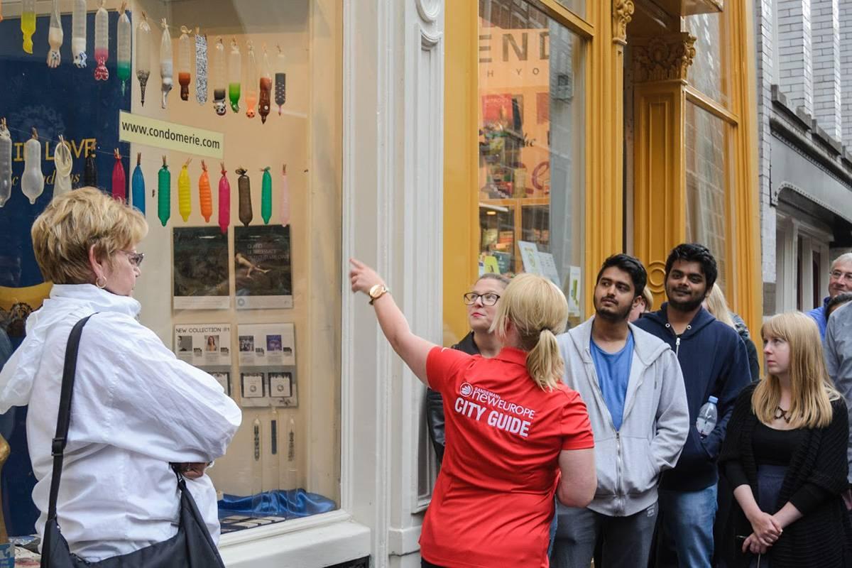 SANDEMANs NEW Amsterdam Tours El Barrio Rojo