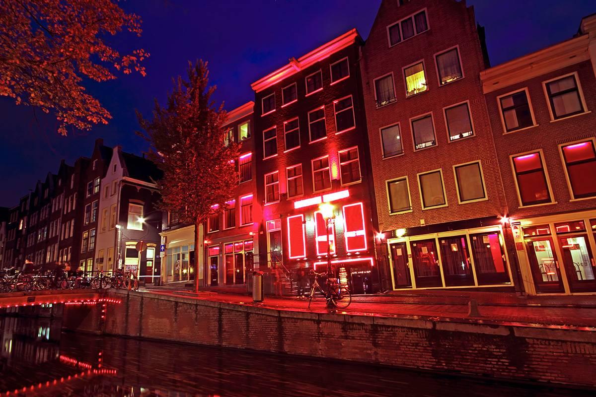 SANDEMANs NEW Amsterdam Tours Tour del Barrio Rojo de Ámsterdam