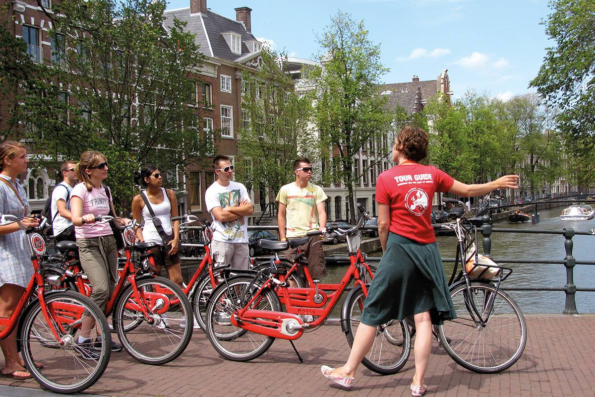 SANDEMANs NEW Amsterdam Tours Amsterdam City Bike Tour