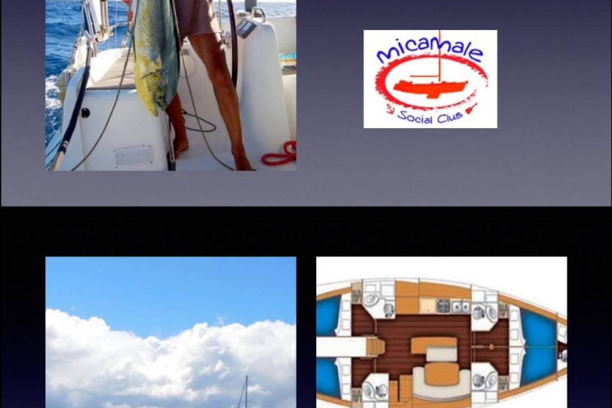 Cacique Cruiser Charter  - boat Micamale