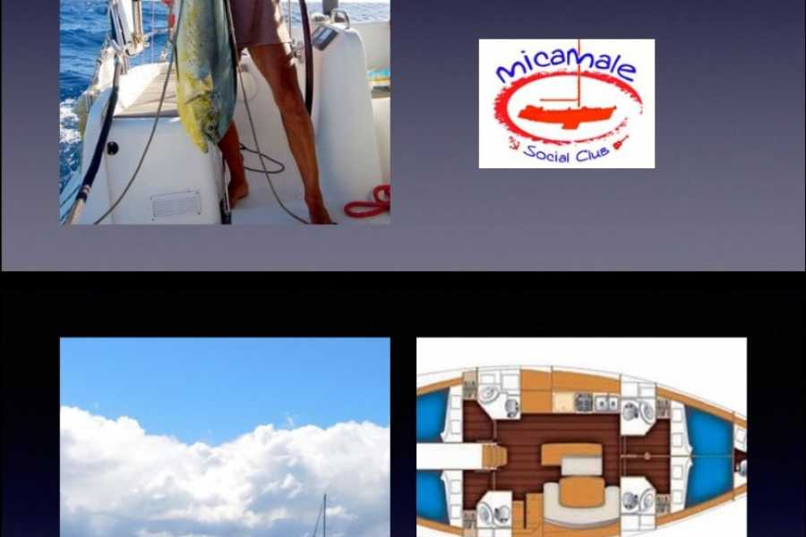 Cacique Cruiser CHARTER SAILBOAT - Micamale