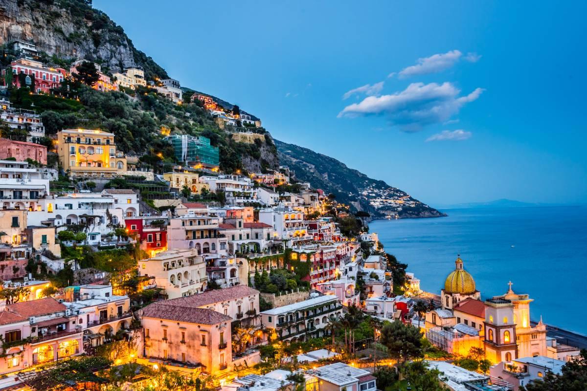 Travel etc Promenade in Positano