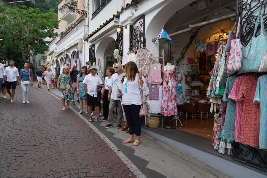 Travel etc Promenade in Positano