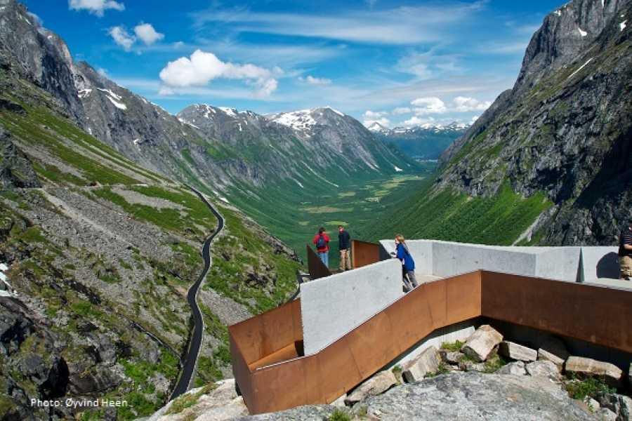 FRAM Rundtur til UNESCO Geirangerfjord & Trollstigen