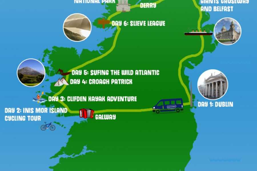 Wild N Happy Group Ltd Wild North - All Inclusive - Small Group Tour of Ireland