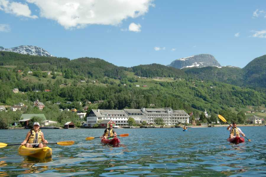 Be Nature Drift AS PRIVATE GUIDED KAYAK ULVIK