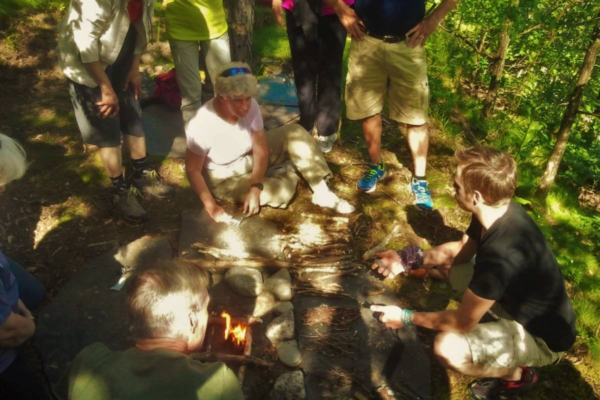 B-Nature A/S FIRE MAKING WORKSHOP