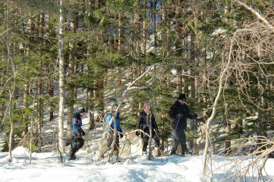 Be Nature Drift AS PRIVATE SNOW SHOE HIKE