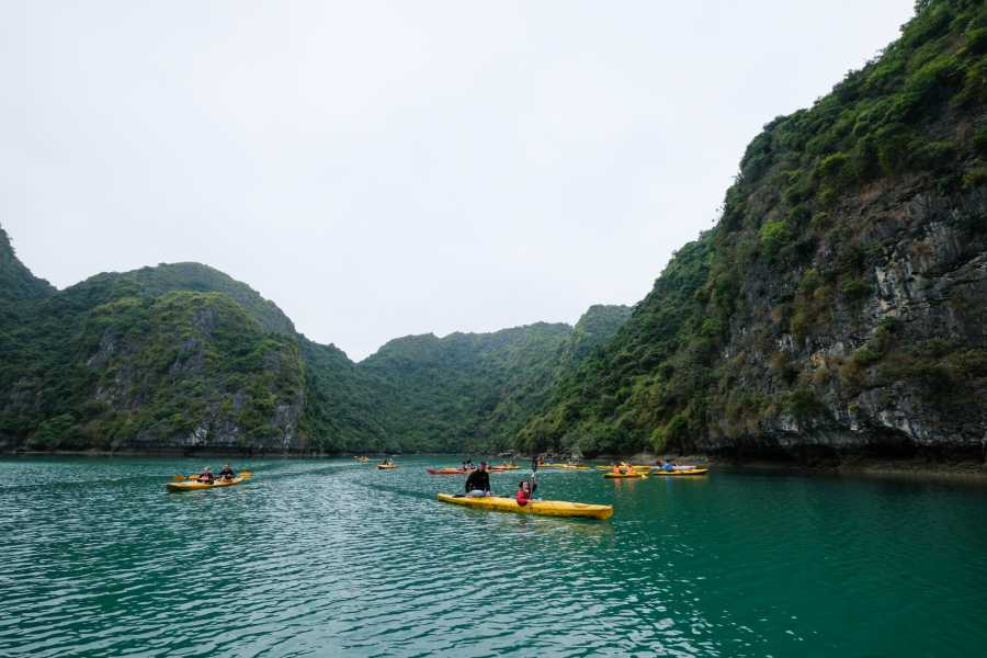 OCEAN TOURS HA LONG BAY ADVENTURE - HIBISCUS CRUISE 3D2N