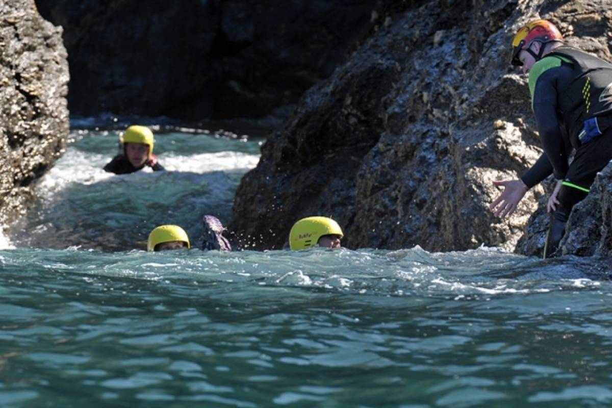 Sea N Shore Ltd Rib Coasteering