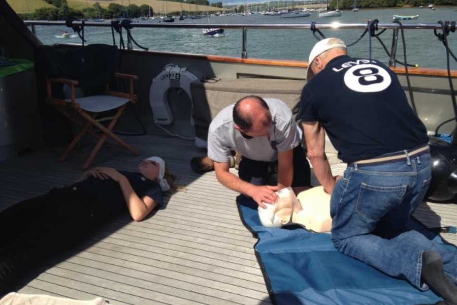 Sea N Shore Ltd RYA and AID First Aid course and Certification