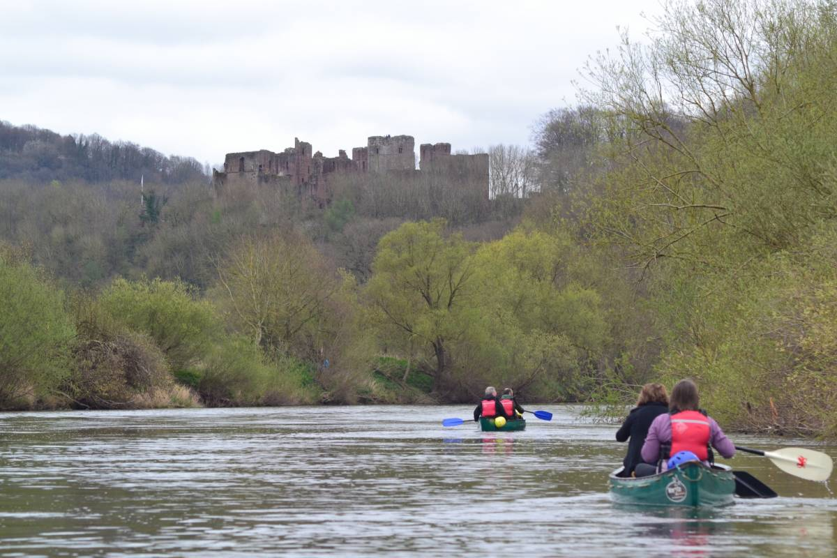 Way2go Adventures Full Day Guided Canoe Trip on the River Wye