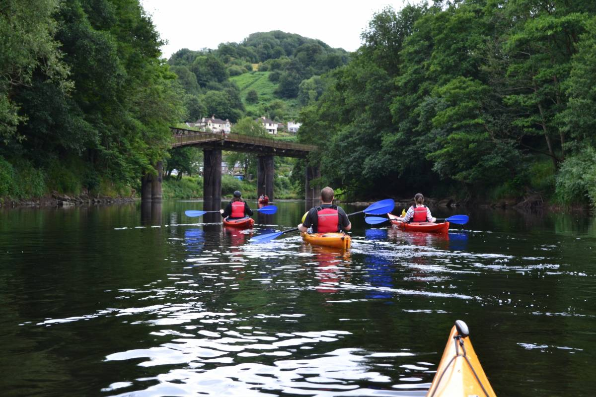 Way2go Adventures Half Day Guided Kayak Trip on the River Wye