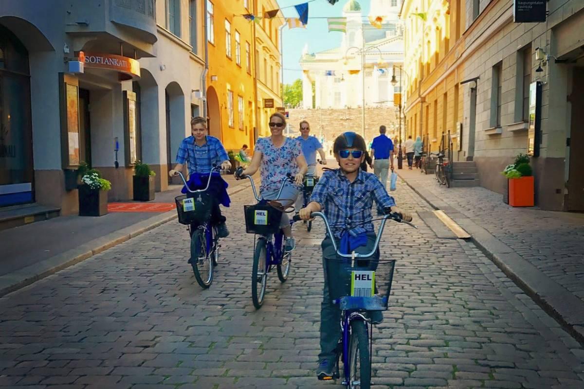 HELtours INSIDERS HELSINKI Bike Tour, from Kasarmitori 3hrs 30min