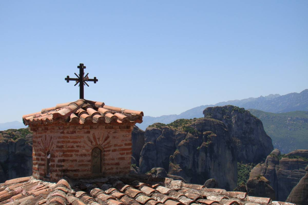 Les Hirondelles Ltd Meteora Day Trip from Volos