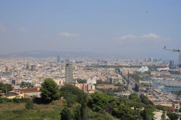 3. Barcelona Half-Day Shared Coach The Montjuïc & Panoramic Tour