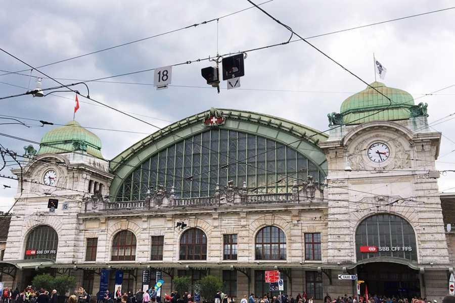 BaselCitytour.ch 12 - Basel SBB / Gare du train