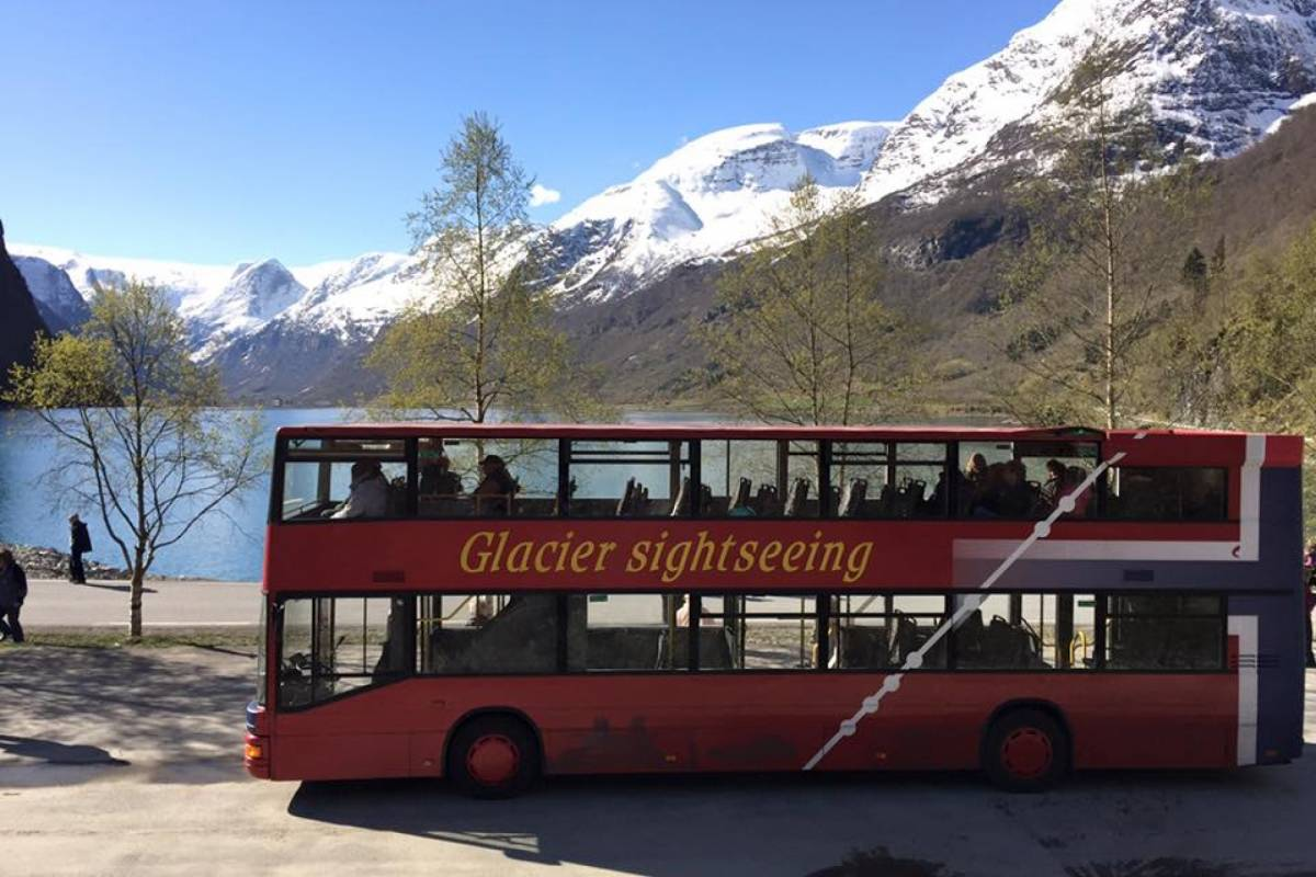 Olden Adventure Open Top Glacier Sightseeing