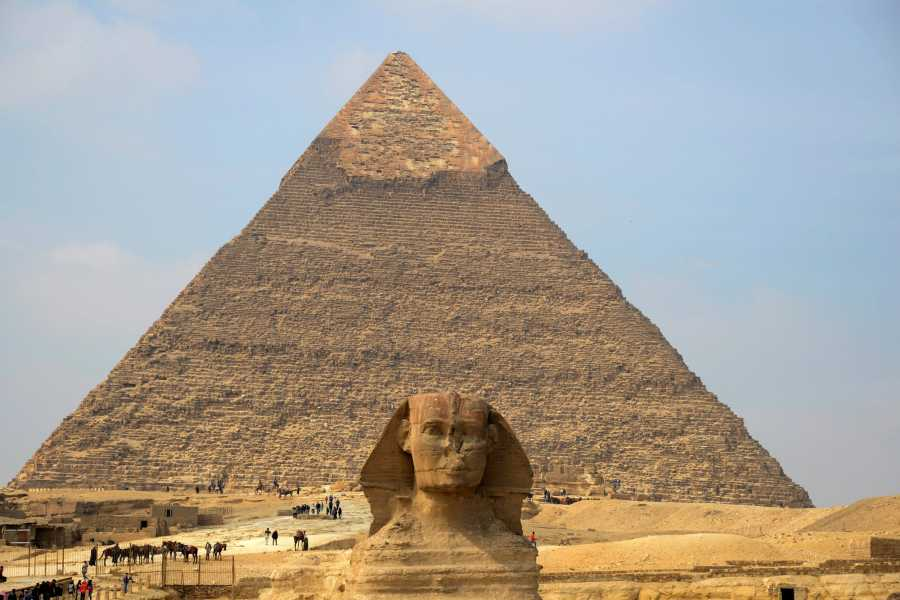 Deluxe Travel Giza Pyramids Tour with Camel Ride