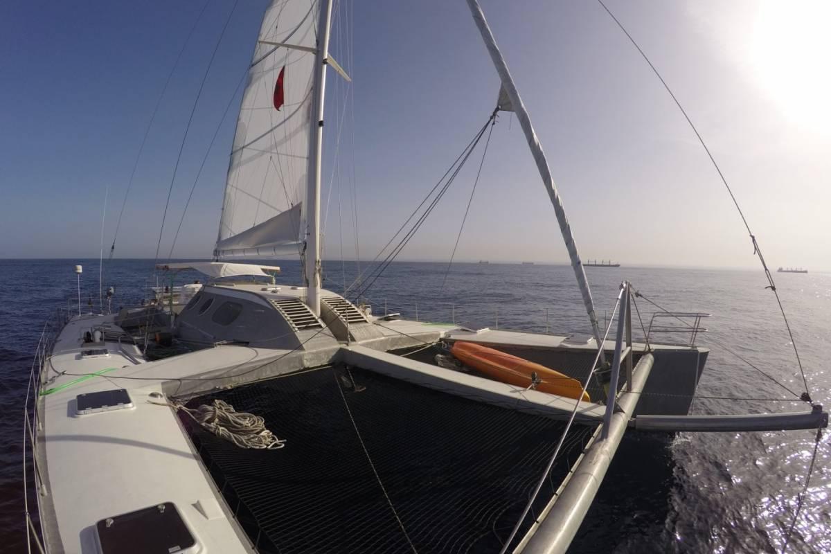 Cacique Cruiser CHARTER CATAMARAN - Zoe