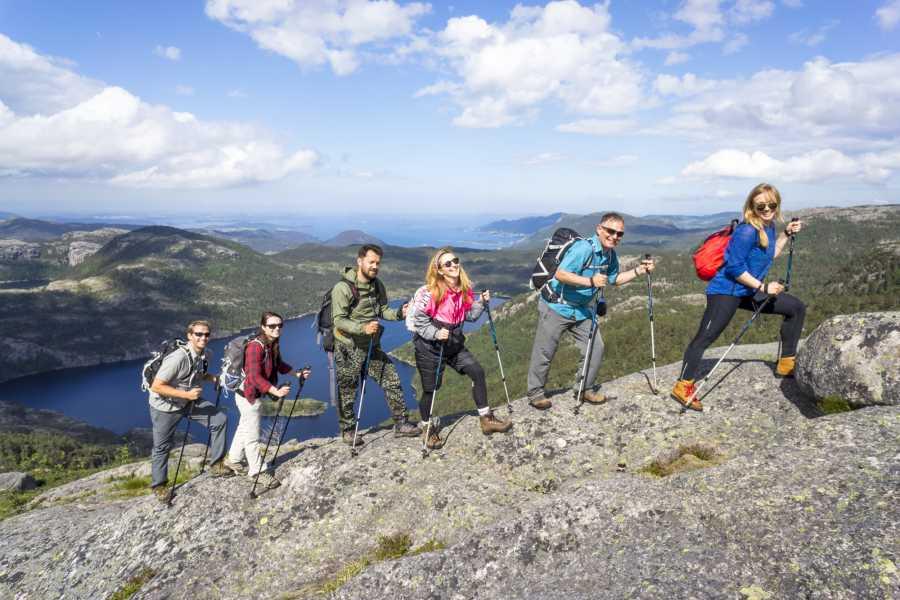 Outdoorlife Norway AS Preikestolen hike - off the beaten track